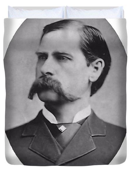 Wyatt Earp Autographed Duvet Cover