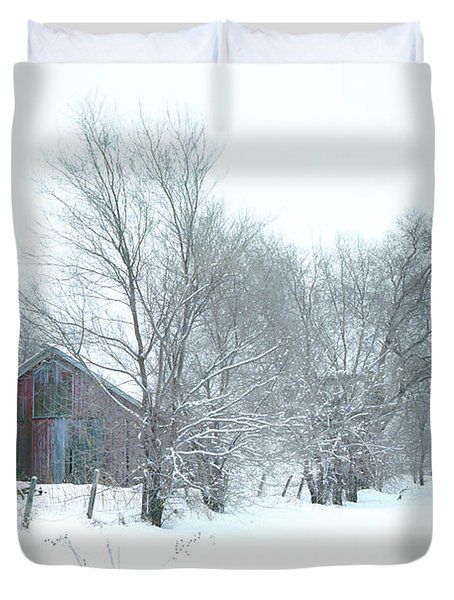 Wyeth Winter Duvet Cover