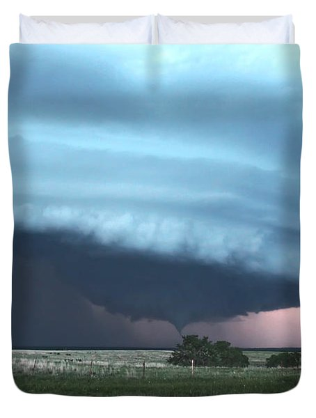 Wynnewood Tornado Duvet Cover