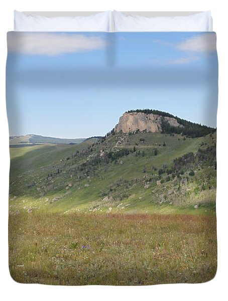 Wyoming Bluffs Duvet Cover
