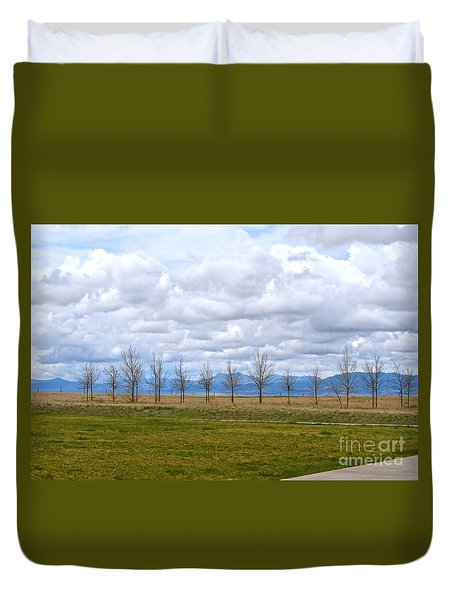 Wyoming-dwyer Junction Duvet Cover