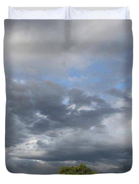 Wyoming Sky Duvet Cover