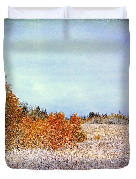 Duvet Cover featuring the photograph Wyoming Splendor by Susan Crossman Buscho