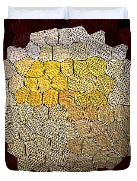 X-mas Tiles Duvet Cover
