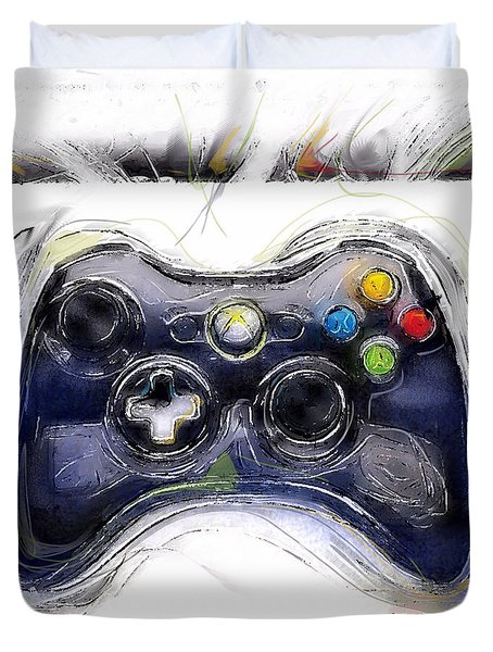 Xbox Thrills Duvet Cover