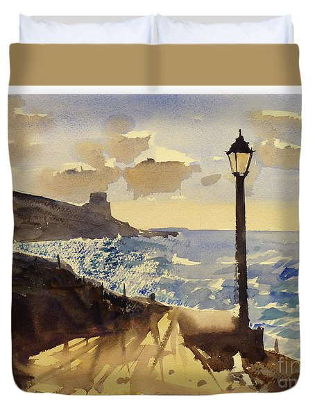 Xlendi Gozo Duvet Cover