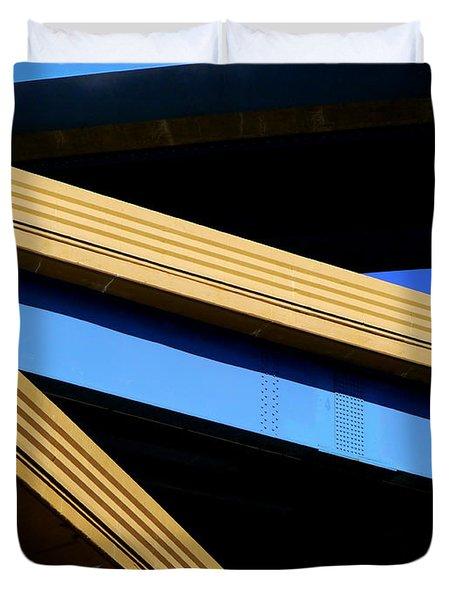 Kandinsky's Lines Duvet Cover