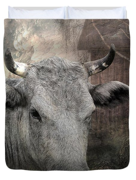 Thee Old Cow Duvet Cover
