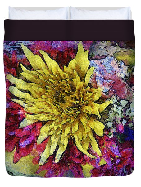 Xtreme Floral Thirteen Reaching Out Duvet Cover