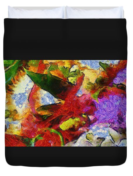Xtreme Floral Three Riot Duvet Cover