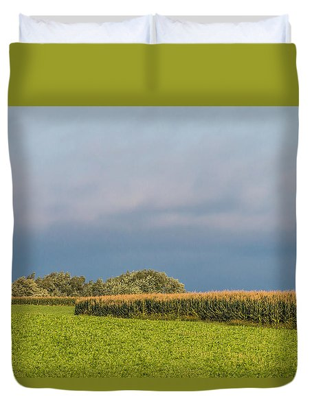 Farmer's Field Duvet Cover