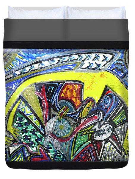 Xxxkull Patterns II Duvet Cover