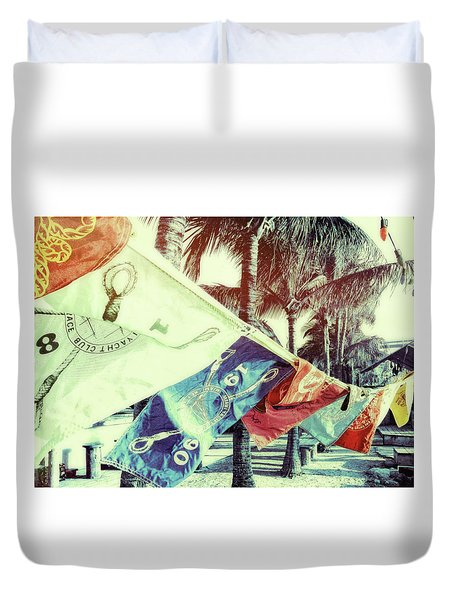 Yacht Club Duvet Cover by JAMART Photography