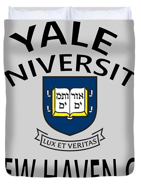 Yale University New Haven Connecticut  Duvet Cover