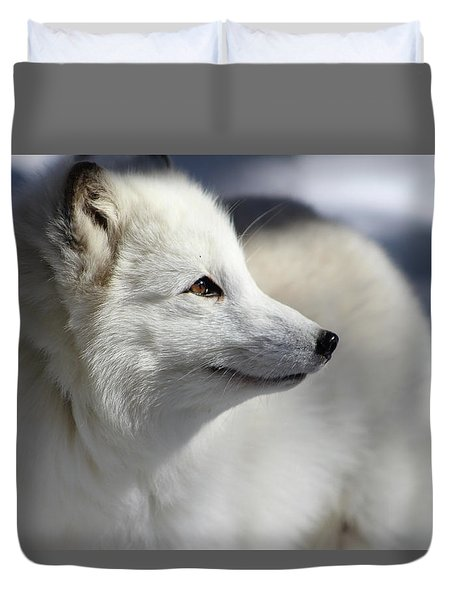 Yana The Fox Duvet Cover