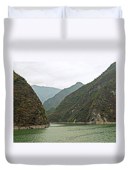 Yangtze Gorge Duvet Cover