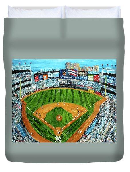 Yankee Stadium Duvet Cover