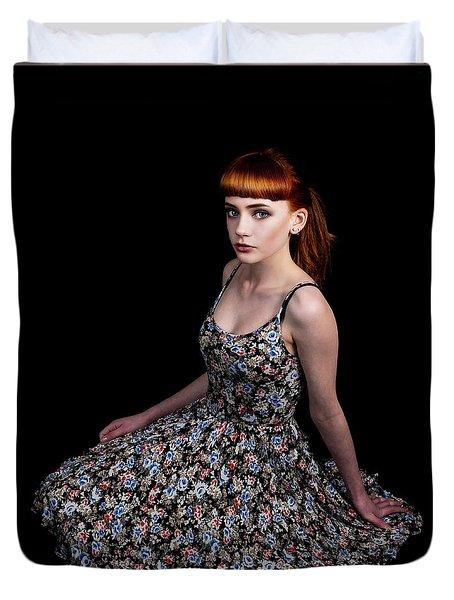 Yasmin Skirt Left Duvet Cover