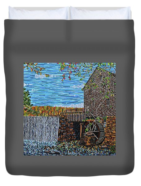 Yates Mill Duvet Cover by Micah Mullen