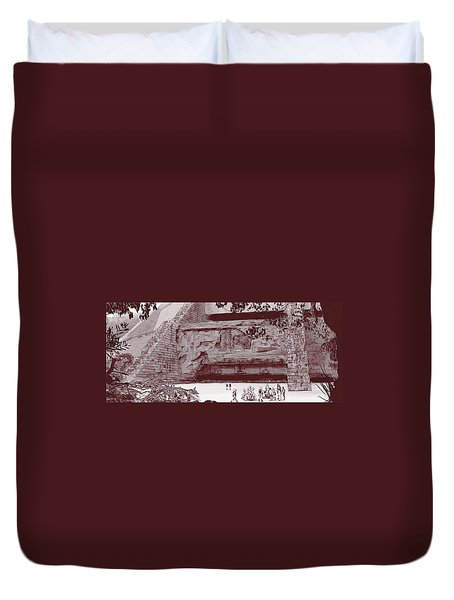 Yavin Temple Duvet Cover
