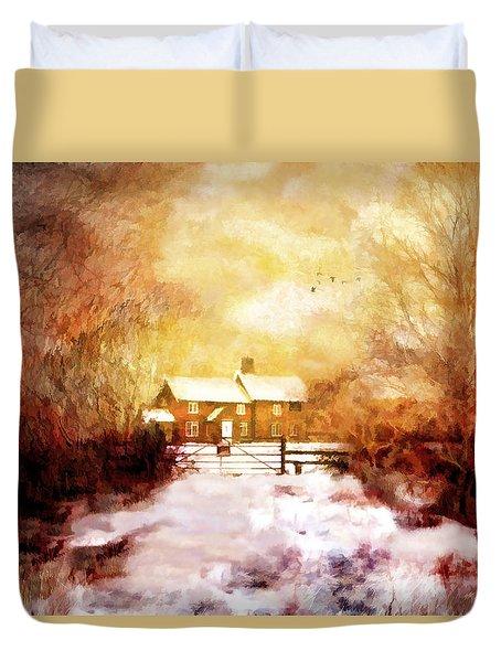 Ye Olde Inn Duvet Cover
