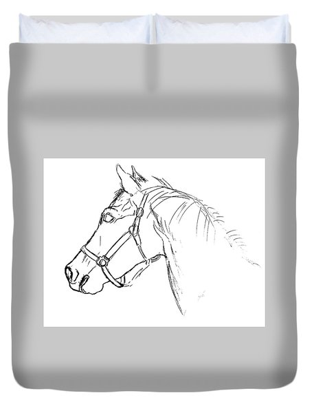 Yearling White Duvet Cover