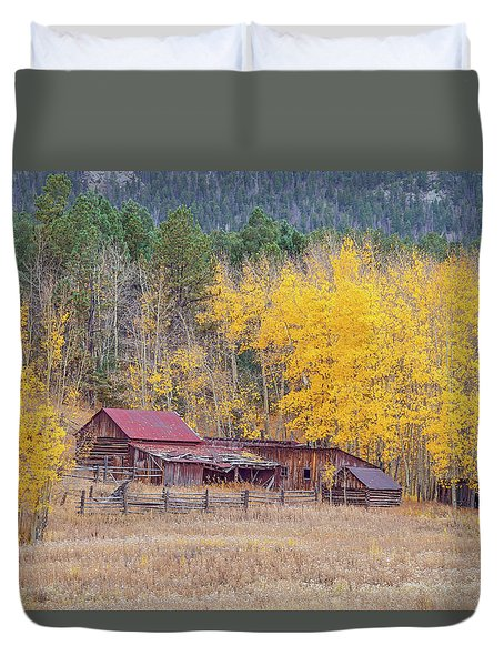 Yearning For The Tranquility Of A Rustic Milieu  Duvet Cover
