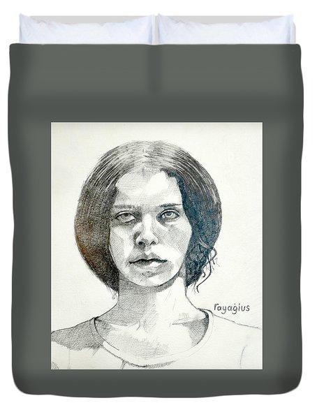 Yelena Duvet Cover by Ray Agius
