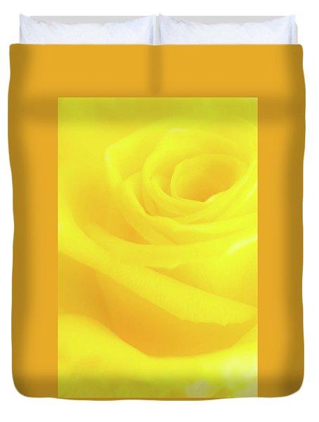 Yello Rose Duvet Cover