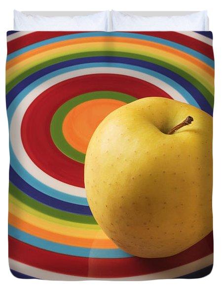 Yellow Apple  Duvet Cover