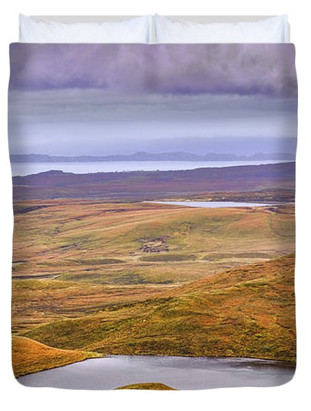 Duvet Cover featuring the photograph Yellow Autumn #g8 by Leif Sohlman