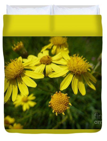 Yellow Daisies 2 Duvet Cover