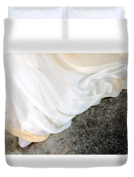 Yellow Dress #9936 Duvet Cover