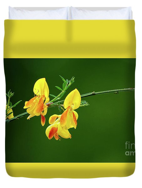 Yellow Fever Duvet Cover