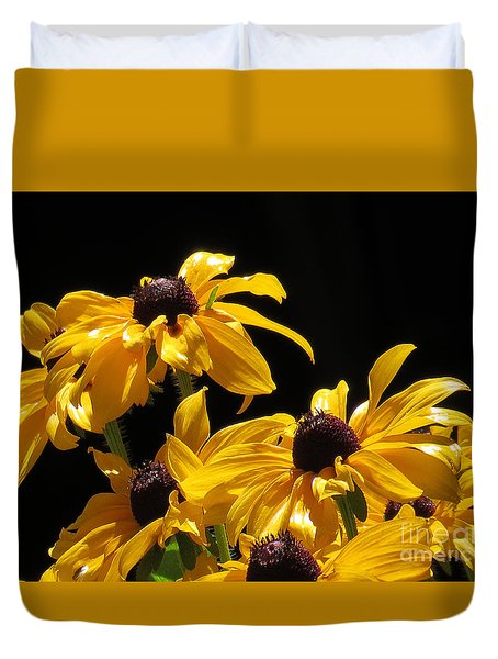 Yellow Flower 2 Duvet Cover