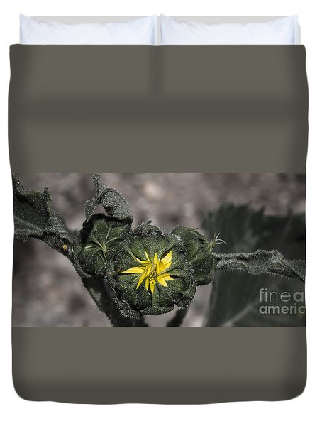 Yellow Flower 3 Duvet Cover