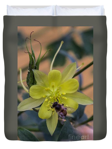 Yellow Flower 5 Duvet Cover