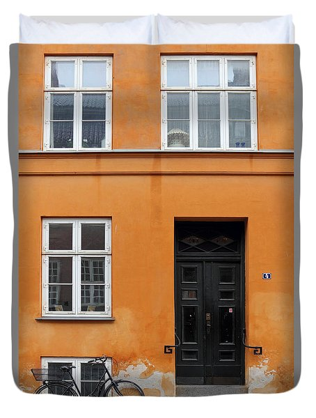 The Orange House Copenhagen Denmark Duvet Cover