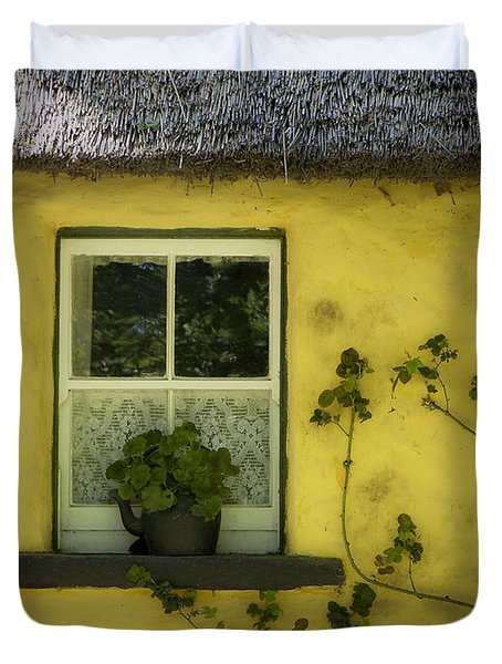 Yellow House County Clare Ireland Duvet Cover