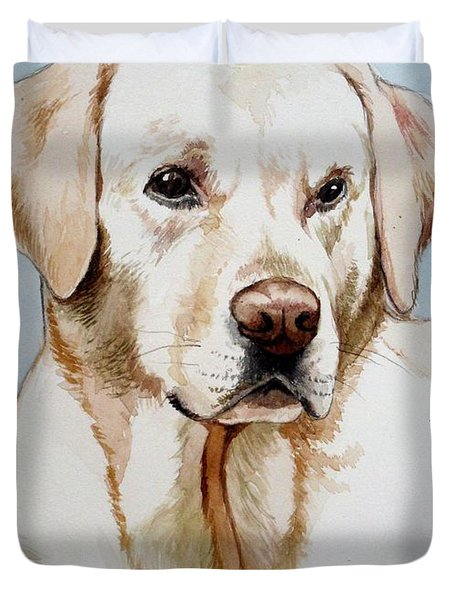 Yellow Lab Duvet Cover