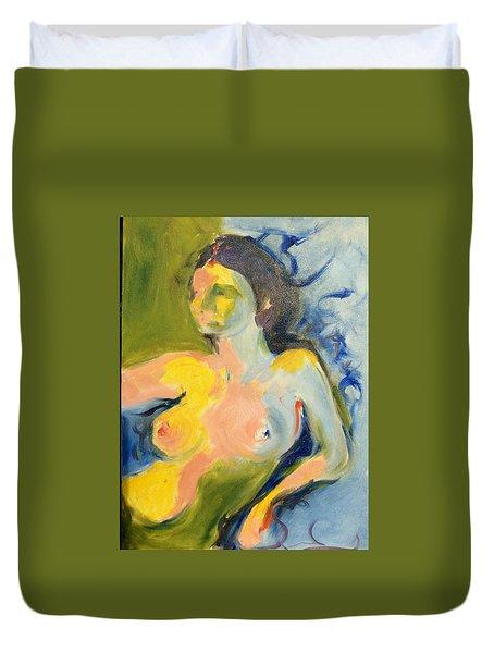 Yellow Light Duvet Cover
