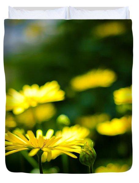 Yellow Moment Duvet Cover