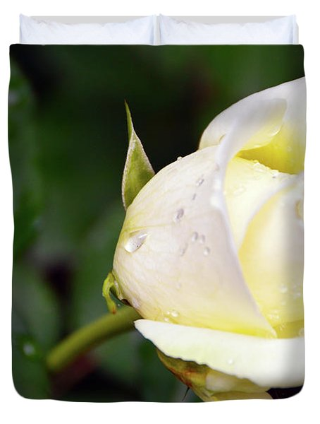 Yellow Rose 2 Duvet Cover