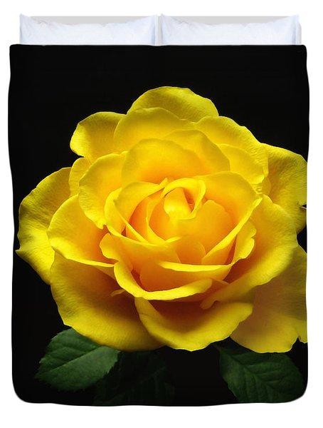 Yellow Rose 6 Duvet Cover