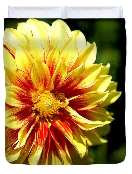 Yellow Sunshine Duvet Cover