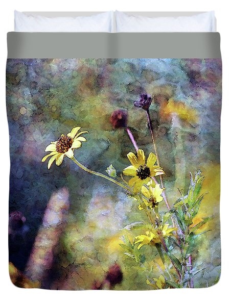 Yellow Wildflowers 3230 Idp_2 Duvet Cover