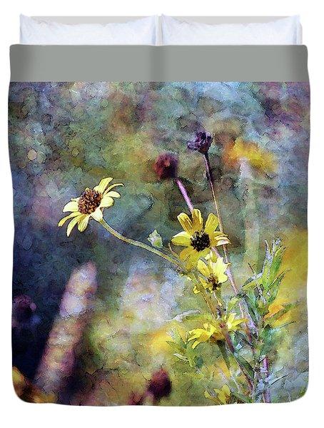 Yellow Wildflowers 3230 Idp_2 Duvet Cover