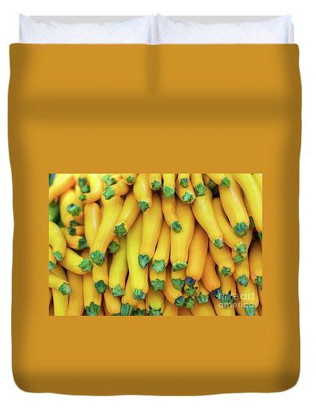Yellow Zucchini Duvet Cover