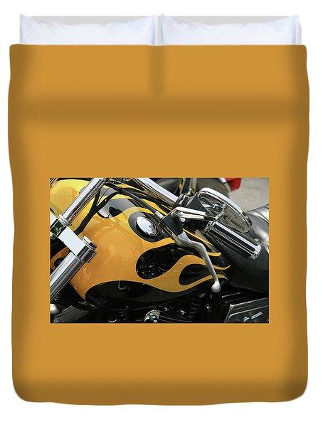 Yellowjacket Duvet Cover