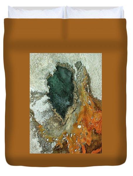 Yellowstone Landscape Duvet Cover
